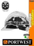 Portwest PEAK VIEW PLUS UV400 átlátszó zárt munkavédelmi sisak - 7 éves védősisak