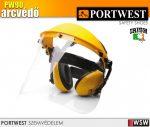 Portwest PW90 arc és hallásvédő szett - védőpajzs