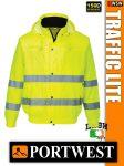 Portwest TRAFFIC LITE jólláthatósági bomber kabát - munkaruha