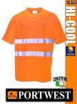Portwest HI-COOL jól láthatósági lélegző póló - munkaruha