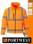 Portwest HI-VIS softshell jólláthatósági kabát - munkaruha