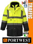 Portwest TRAFFIC jólláthatósági bélelt kabát - 7in1