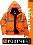 Portwest CONTRAST jólláthatósági bomber kabát - munkaruha