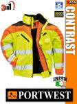 Portwest CONTRAST jólláthatósági bomber kabát - 3in1