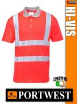 Portwest HI-VIS jól láthatósági galléros póló - munkaruha