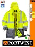 Portwest HI-VIS jólláthatósági bélelt kabát - 5in1