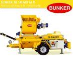 Bunker S8EV 400V habarcspumpa és vakológép tartozékokkal PFT G4 zsákos habarcspumpa G5C turbosol