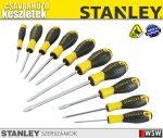 Stanley 10  részes csavarhúzó készlet - szerszám