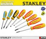 Stanley 8 részes magnum csavarhúzó készlet - szerszám