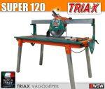 Triax SUPER60 ipari asztali csempevágó és járólapvágó gép