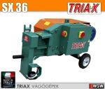 Triax SX betonacél-vágó gép