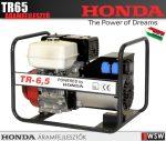 Honda áramfejlesztő