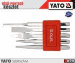 Yato CRV véső-kiütő készlet 5 db-os - szerszám