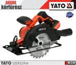 Yato akkumulátoros körfűrész 18V (csak gép) - elektromos kisgép
