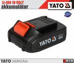 Yato LI-ION 18V akkumulátor 2.0 AH - elektromos kisgép