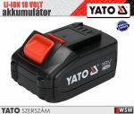 Yato LI-ION 18V akkumulátor 3.0 AH - elektromos kisgép