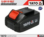 Yato LI-ION 18V akkumulátor 4.0 AH - elektromos kisgép