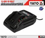 Yato LI-ION 18V akkumulátortöltő - elektromos kisgép