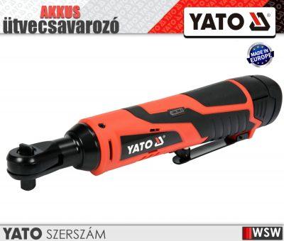Yato akkumulátoros szablyfűrész 12V elektromos kisgép