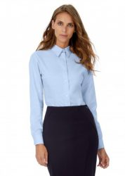 B&C Oxford LSL Women